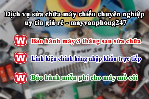 Dịch vụ sửa chữa máy chiếu chuyên nghiệp uy tín giá rẻ - mayvanphong247