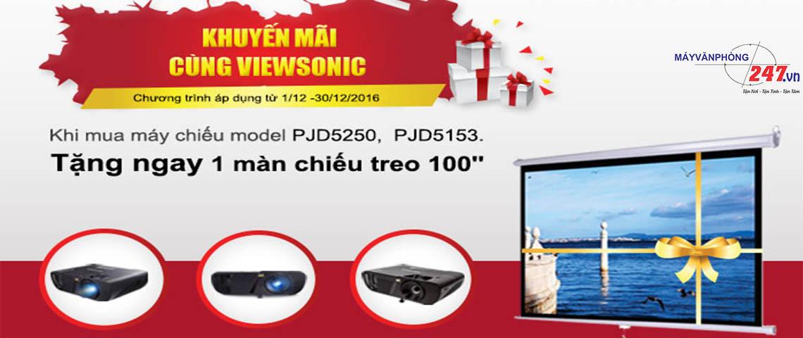 Khuyến Mãi Máy Chiếu Viewsonic PJD 5350-PJD 5153