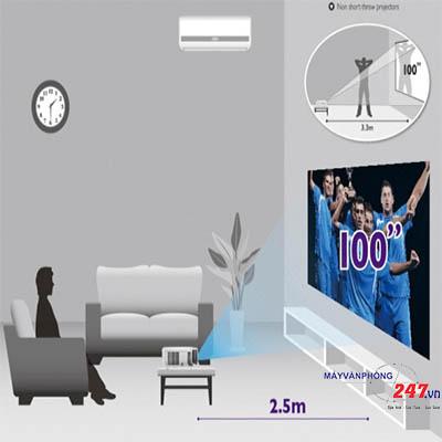 Tổng hợp thước đo khoảng cách máy chiếu